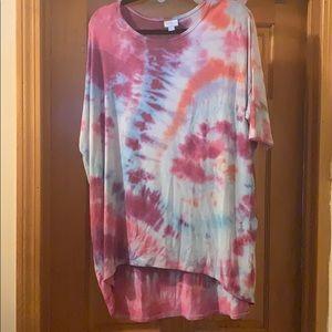 Lularoe Large Tye Dye Irma